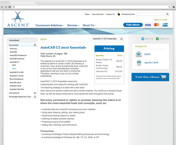 Ascent Center for Technical knowledge web site